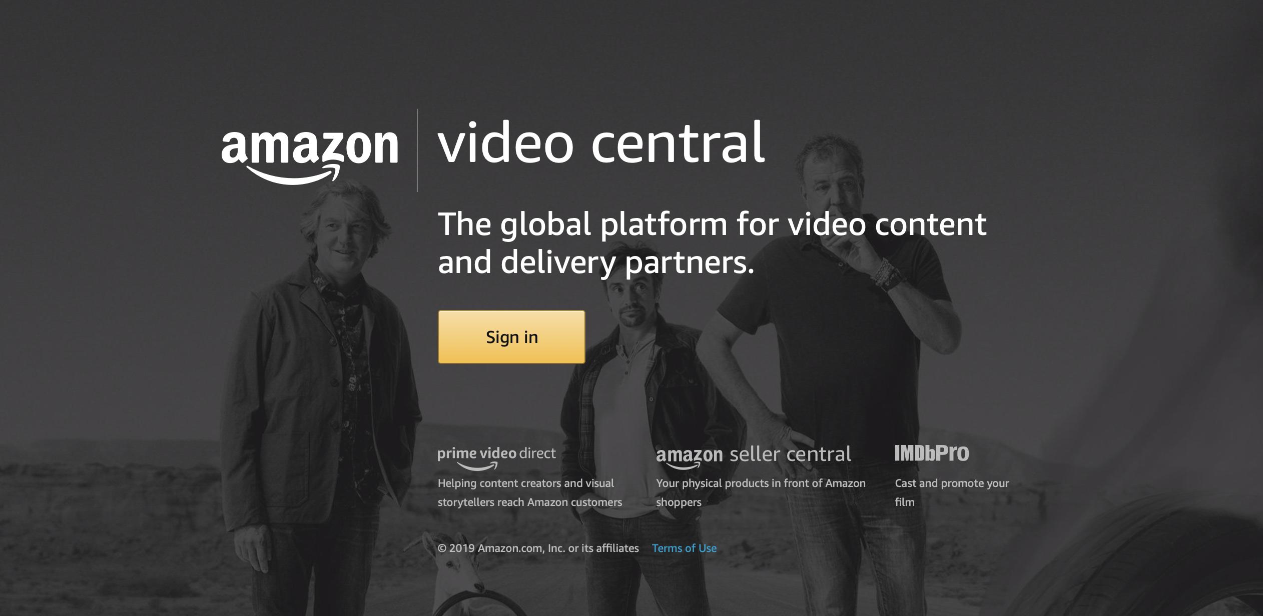 Amazon Video Central